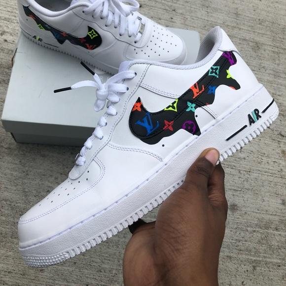 separation shoes e863a 581e7 Custom Drip AF1s. NWT. Nike
